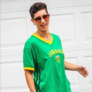 Other - Green/Yellow/Black Jamaica Large Shirt